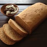 לחם חיטה מלאה ביתי