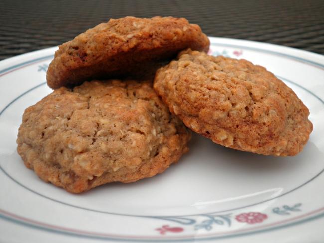 עוגיות גרנולה בריאות